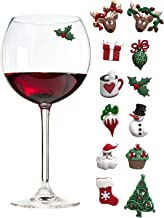 Christmas Holiday Magnetic Cocktail Markers
