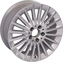 NEW 17 Inch Mercedes C300 20 Spoke Silver Rim Fits Mercedes C Class OEM Part Number A2054015600, Hollander 85444