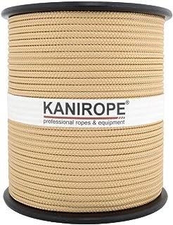 Kanirope PP Seil Polypropylenseil MULTIBRAID 3mm 100m Farbe Hanffarbig 0144 16x geflochten