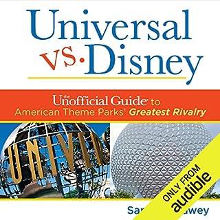 Universal Versus Disney audiobook cover art