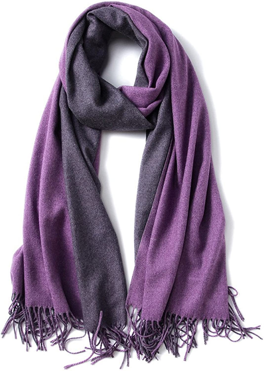 Pure color Scarves Wraps Spinning Tassel Shawl Long Stole (color    3)