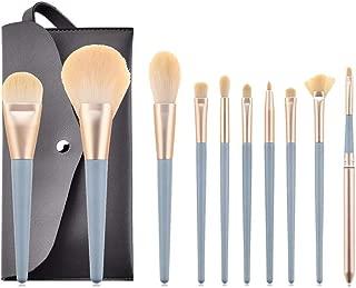 Highend Makeup Brush Set - Professional Dense Soft Premium Synthetic Brushes for Makeup Powder Fan Brush Foundation Blush Highlight Eyeshadow Concealer Lip Brush Kit