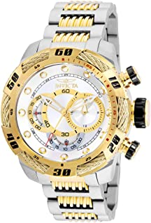 Invicta Men's Speedway Quartz Stainless-Steel Strap, Two Tone, 24 Casual Watch (Model: 25480)