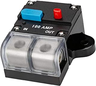 Car Circuit Breaker Waterproof Car Audio Inline Circuit Breaker met handmatige reset Zekeringsklem Inverter voor Motor Car...