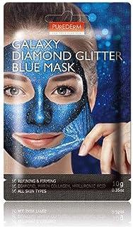 PUREDERM GALAXY DIAMOND GLITTER BLUE MASK(10g)1PCS