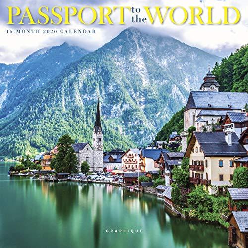 GRAPHIQUE DE FRANCE: Passport to the World 2020 Mini Wall Ca