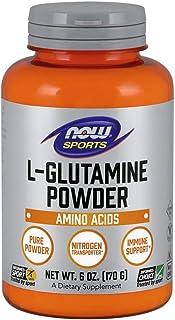 NOW 诺奥 谷氨酰胺纯粉,6 盎司(约 170.1 克)