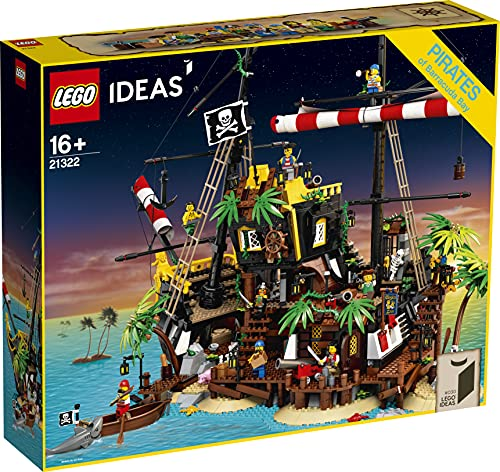 IDEAS 21322 赤ひげ船長の海賊島