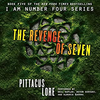 The Revenge of Seven audiobook cover art