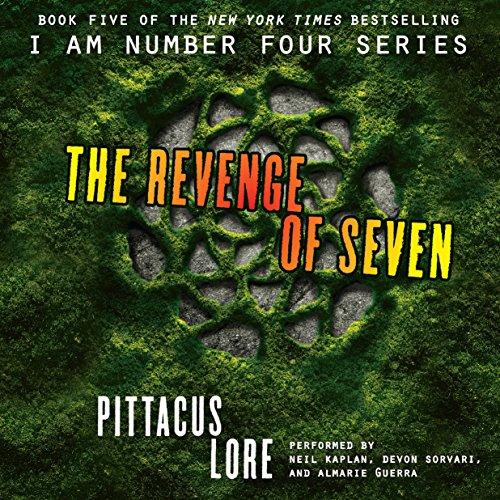 Amazon Com The Revenge Of Seven Lorien Legacies Book 5 Audib