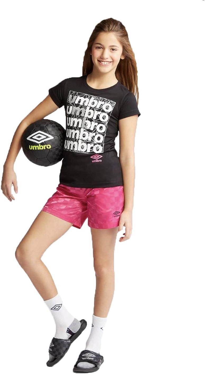 Sacramento Mall Umbro Girls' Printed Jersey - T-Shirt Seattle Mall