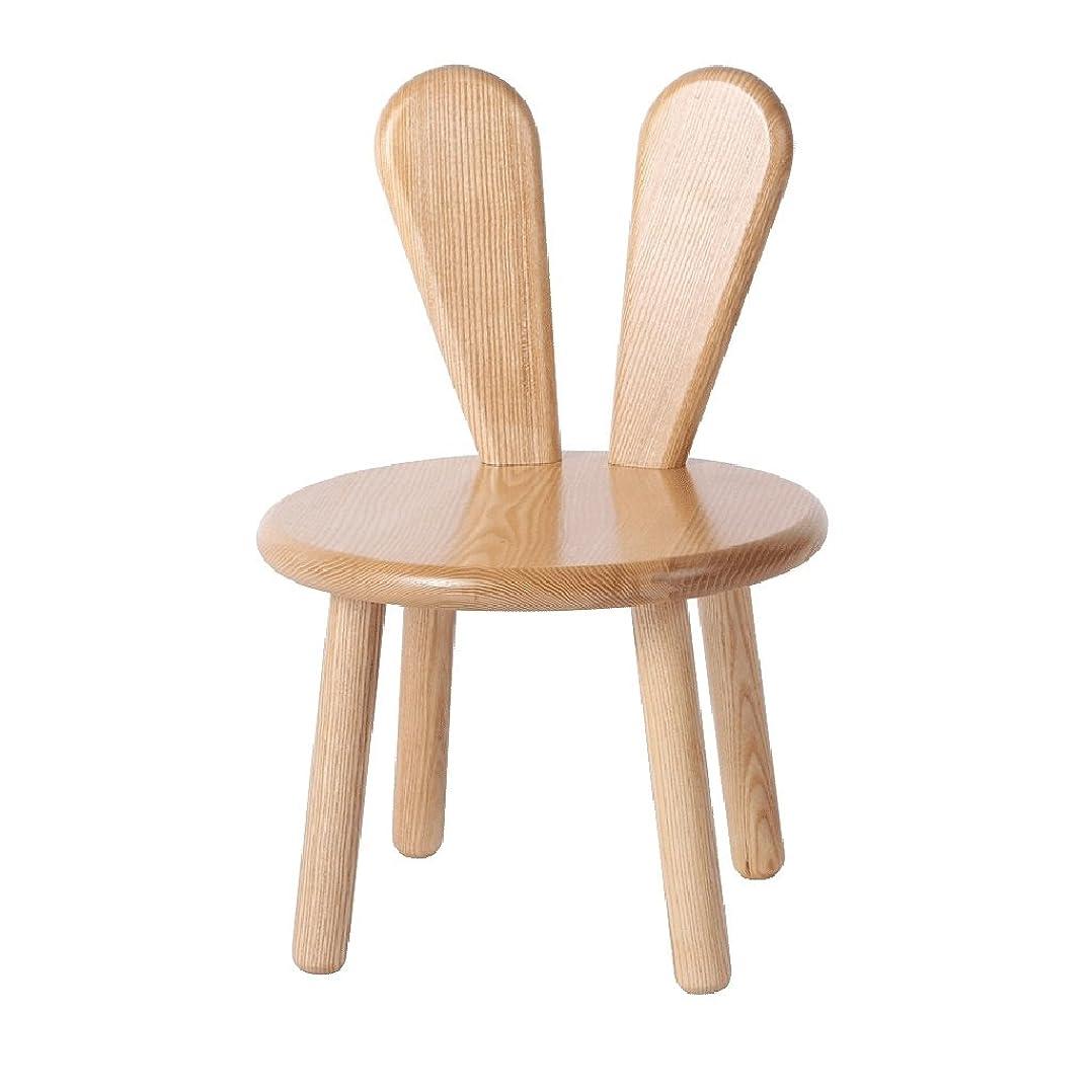インフルエンザマカダム気になるWY リビングルームのベッドルームの赤ちゃんのウサギのデザインに適した子供の創造的な木製のベンチのソファのスツールフットスツールシート交換靴のベンチ 家具