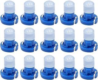 Andifany 4Pcs de T3 LED Bombilla de lampara de luz Blanca 1210 3528 SMD para Tablero de mandos del Coche