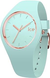 Ice-Watch - Ice Glam Pastel Aqua - Reloj Verde para Mujer con Correa de Silicone