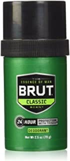 BRUT Deodorant Stick Original Fragrance 2.50 oz (Pack of 9)
