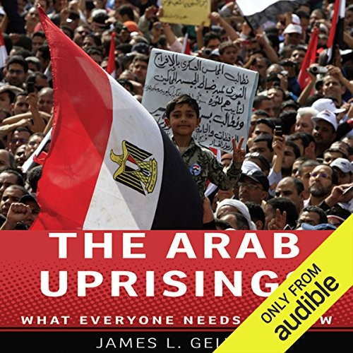 The Arab Uprisings audiobook cover art