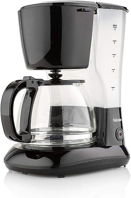 -Tristar CM-1245 Koffiezetapparaat – Inhoud: 1.25 liter – Druppelstop, Eén maat, Zwart-aanbieding