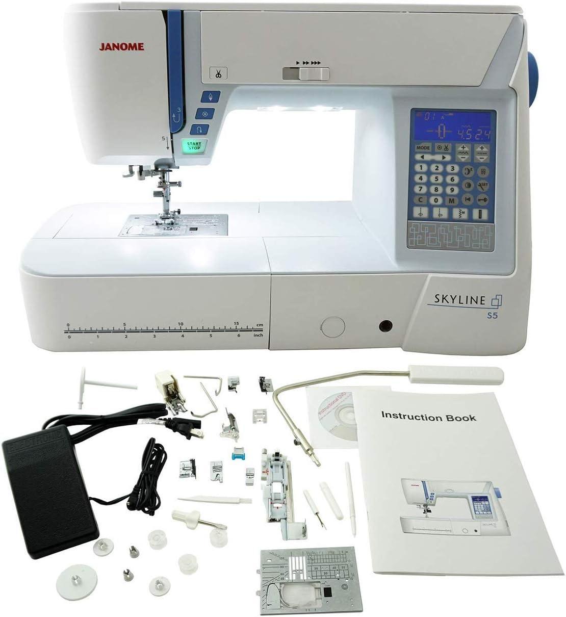 Janome Low price S5 Oklahoma City Mall Computerized Machine Sewing