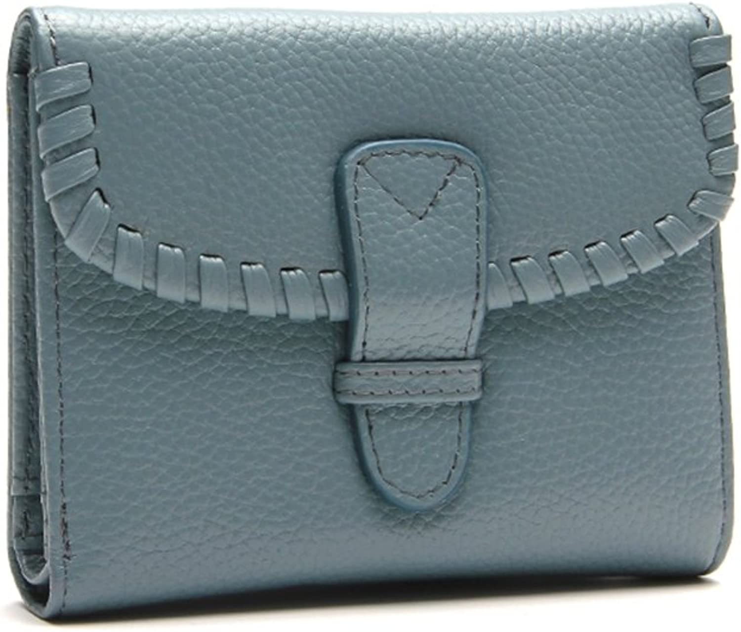 Choreal Genuine Leather Trifold Wallet Clutch Checkbook Card Holder for Women