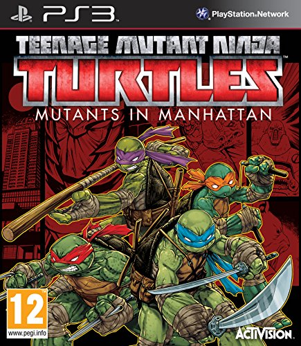 Teenage Mutant Ninja Turtles: Mutants in Manhattan (PS3) - [Edizione: Regno Unito]