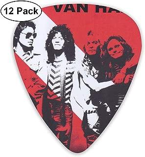 LeenLznn Van Halen 12 Pack Colorful Guitar Pick for Guitar Bass
