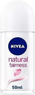 NIVEA Natural Fairness, Antiperspirant for Women, Roll-on 50ml