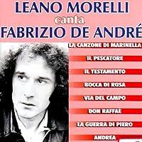 Canta Fabrizio De Andre'