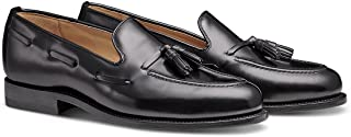 MORAL CODE The Foster: Men's Hand Crafted Leather Tassel Penny Loafer Dress Shoe