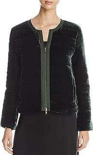 Eileen Fisher Womens Fall Velvet Jacket