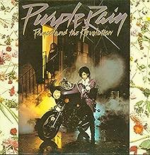 Prince PURPLE RAIN (1984 Black Vinyl LP Germany 925110-1U)