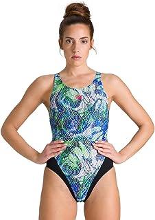 arena Women's Kikko Swim Tech Back MaxLife One Piece Swimsuit