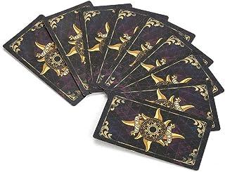 heliltd Vintage Tarot Card, 78 Card Knight Wet, Tarot Card with Play Card Color Printing
