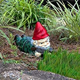 Garden Gnomes,Outdoor Statues Funny Army Gnome Garden Decor with Guns, Gnomes Garden Decorations,Gun Lovers & Novelty Gift,Desktop Indoor Outdoor Lawn Yard Decorations