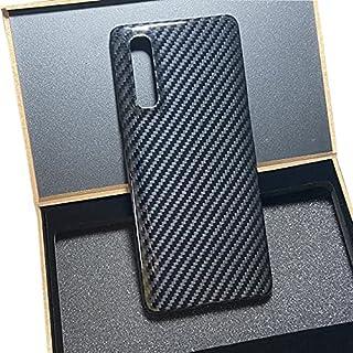 حافظة الهاتف وأغطية - غطاء من ألياف الكربون النقي للعثور على X2 Pro جلد نباتي من السيراميك قليل السُمك للغاية لـ Realme X2...
