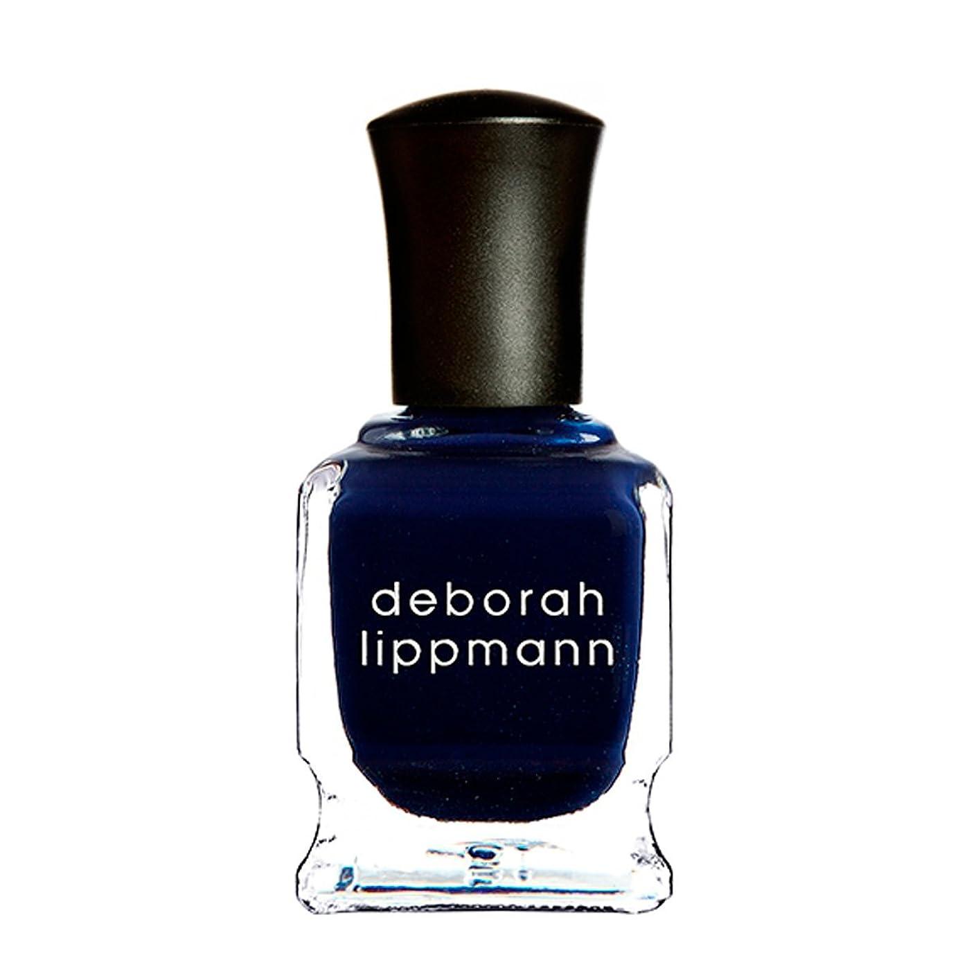 手綱酒長いです[Deborah Lippmann] [ デボラリップマン] ローリングインザディープ (Rolling in the Deep) 色:ミッドナイトブルー ネイルカラー系統:ブルー 15mL