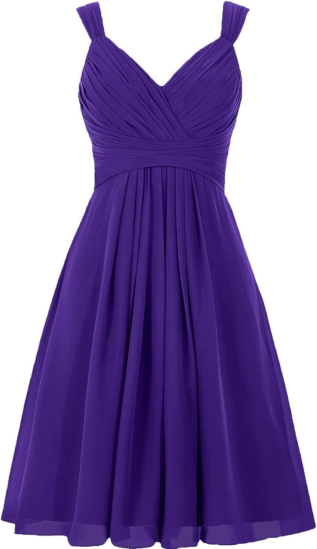 Bridesmaid Dresses Short Prom Dress Chiffon Simple Party Dress for Junior Bridesmaid Dress