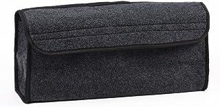 VOSAREA Aufbewahrungsbox für Auto, Kofferraum Organizer, faltbar, Tasche, Werkzeug zur Aufbewahrung von Auto (grau)