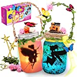 Alritz Fairy Lantern Craft Kit - Gift for Kids Ages 4-12 - Remote Control Mason Jar Night Light - DIY Garden Decor Art Project, Best Creative Activities for Birthday Party and School