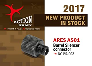 Action Army B05-003 Barrel Connector Adaptor for ARES Amoeba AS01 Striker S1