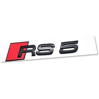 AUTO-P automotive ABS plating logo for A6 conversion A6 Bright black