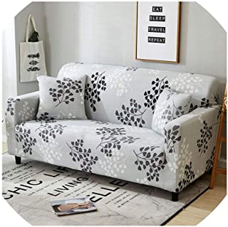 Sofa Coverblack White Grey 1/2/3/4 Seater Sofa Cover Tight Wrap All-Inclusive Sectional Elastic Seat Sofa Covers Couch Covering Slipcovers,5899,2Pcs 45X45Cm