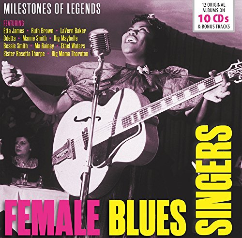 Female Blues Singers Milestones Of Legend (Box 10 Cd)