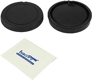 Haoge Kameragehäuse und Objektivdeckel für Sony A A Type Minolta AF Mount Kamera Objektiv wie A99 A99II A77 A77II A65 A68 A55 A57 A58 A33 A35 A37 A900 A850 A700