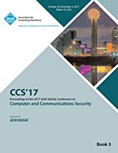 CCS '17: 2017 ACM SIGSAC Conference on Computer and Communications Security - Vol 3