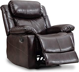Romatpretty Classic Seat Removable Sofa Recliner Chair Theater Seating -Padded armrests, Easy Assembly, for Coffee/Chat/Watch Movies/LeisureMovable Combination for Any Style of Living Room