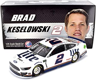 Lionel Racing Brad Keselowski 2019 Miller Lite NASCAR Diecast Car 1:24 Scale