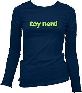 Smash Transit x Rotofugi Women's Toy Nerd Long Sleeve T-Shirt - Navy, Large