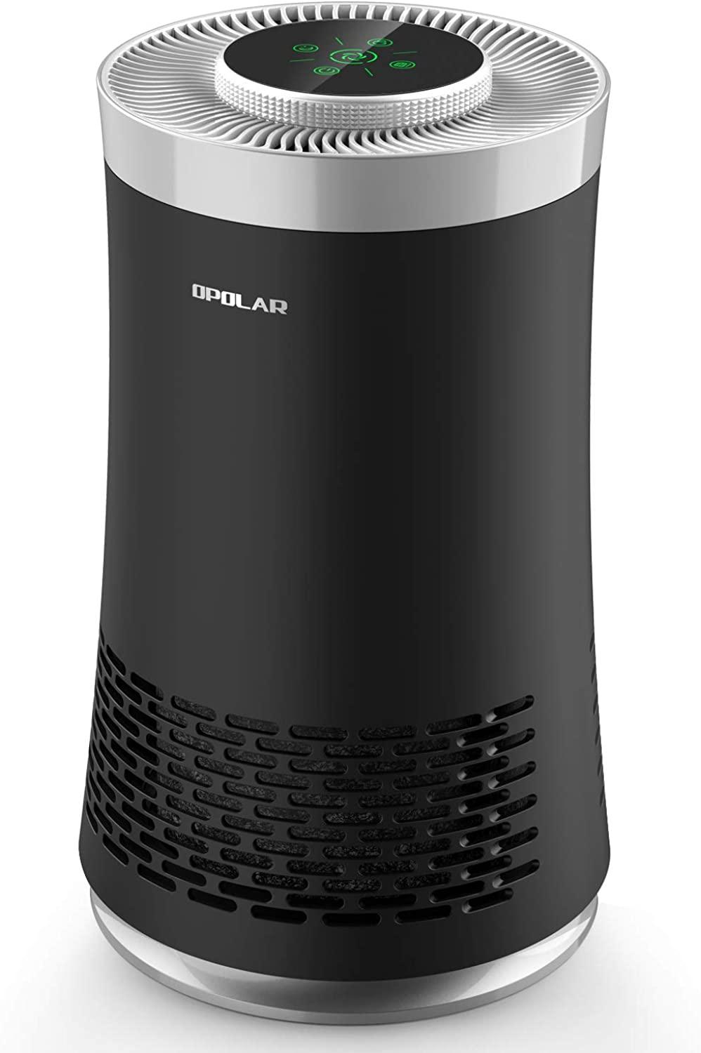 OPOLAR Air Purifier with for Medium-size Room with HEPA Filter & Smart Sensor, Sleep Mode & Quiet, 50 CFM, 3-in-1 Portable Air Cleaner Odor Eliminator for Smokers, Dust, Mold, Pets, for 103 sq.Ft