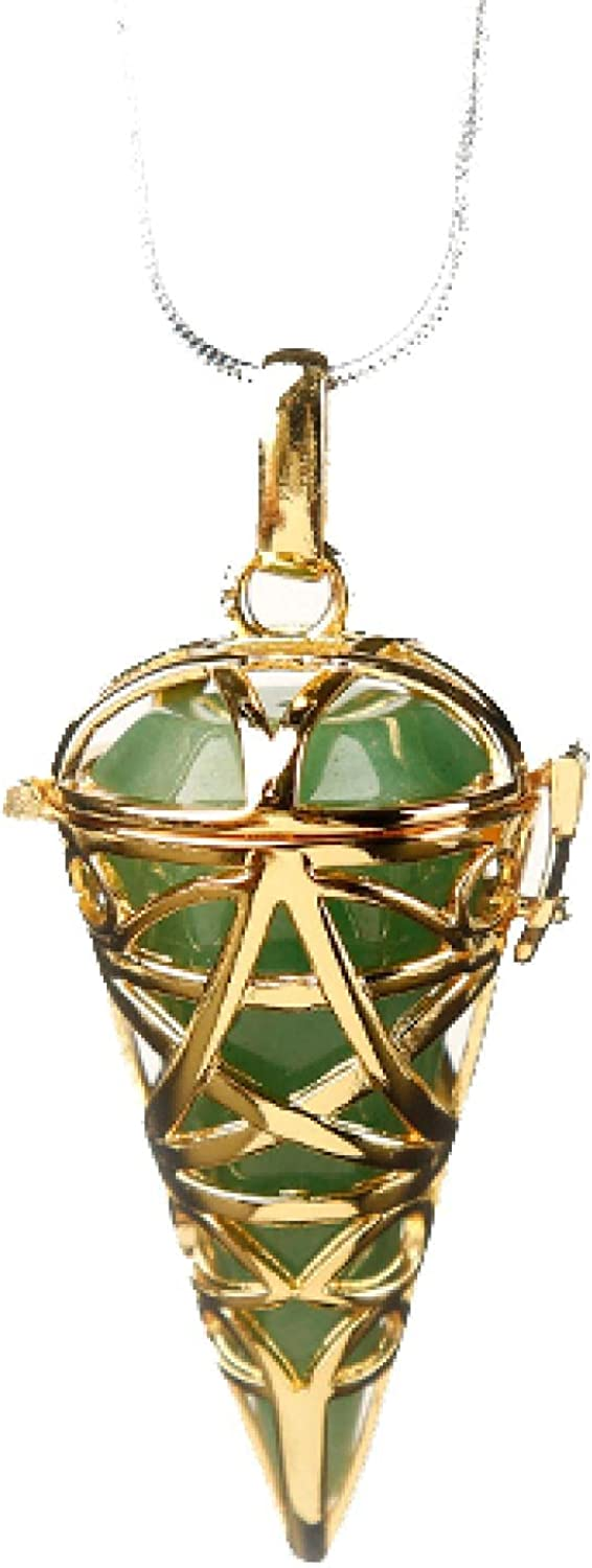 Natural Stones And Crystal Minerals Austin Mall Cone Ranking TOP9 Pendulum Metal Pyramid
