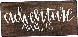 Adventure Awaits Wedding Sign